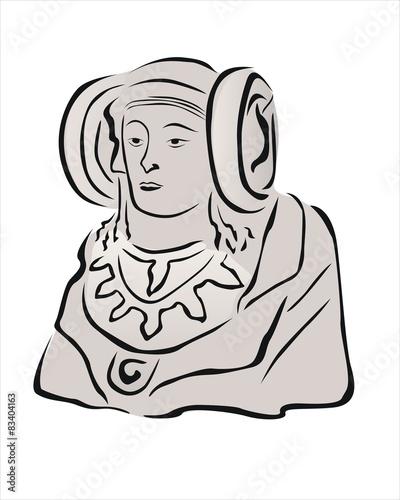escultura de la dama de elche