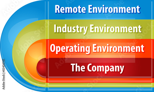 remote environment the industry environment and the operating environment