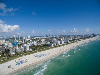 Aerial Miami Beach photo