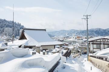 Takayama ancient city in Japan