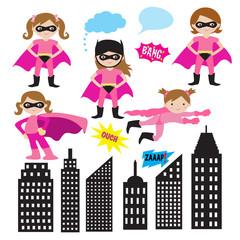 Super Girl Heroes