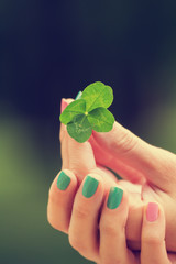 Four leaf clover.