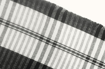 Black and white cotton background