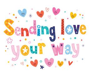Sending love your way