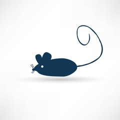 Dark rat icon