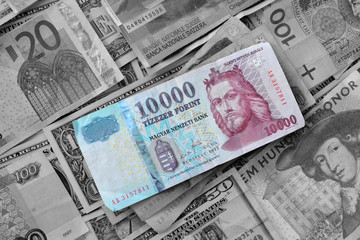 Hungarian Forint - different currencies -forex