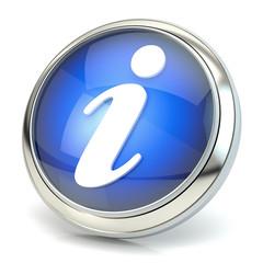 Information symbol 3D