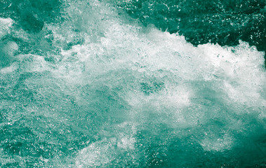whitewater waves as background Wall mural