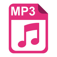 Icono extension MP3