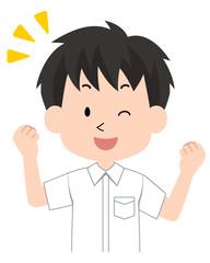 男子・学生〈学ラン制服・夏〉4