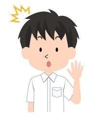 男子・学生〈学ラン制服・夏〉9
