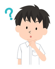 男子・学生〈学ラン制服・夏〉10