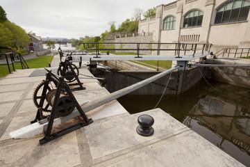 canal lock winches Ottawa