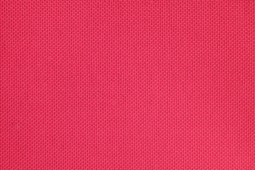 Red textile texture as background