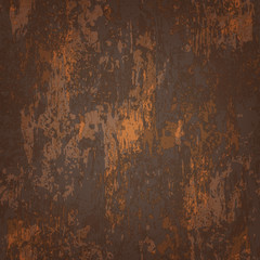 abstract seamless texture of rusted metal
