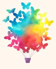 Watercolor_vintage_hot_air_balloon_Celebration_festive_backgroun