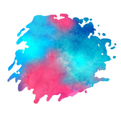 watercolor_stain_with_aquarelle_paint_blotch