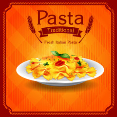 pasta traditional old style