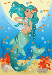 Mermaid Underwater