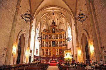 Inside the cathedral, Ciudad Real, Castilla la Mancha, Spain
