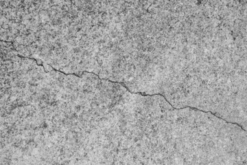 Abstract cracked concrete wall