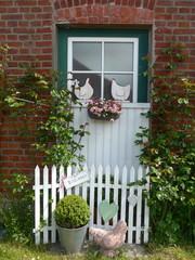Fenster eines alten Bauernhauses