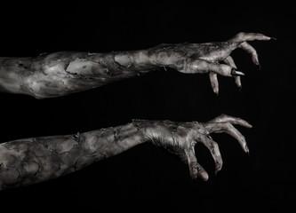 black hand of death, walking dead, zombie theme,  zombie hands
