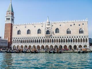 Venise, Grand Canal et Palais des Doges