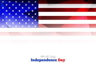 Elegant American flag theme background design.