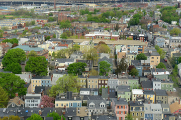Boston Charlestown Houses, Massachusetts, USA