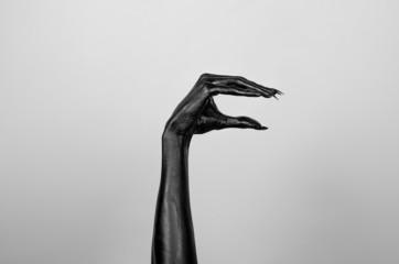 Black hand of death