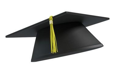 3d illustration of a graduation cap