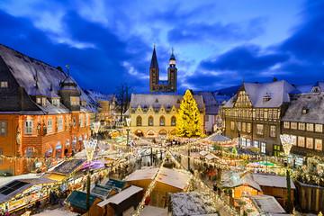 Weihnachtsmarkt in Goslar, Deutschland