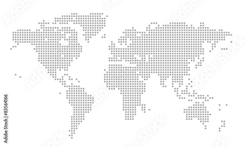 Dotted world map stock image and royalty free vector files on dotted world map gumiabroncs Image collections