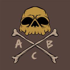 skull tattoo logo