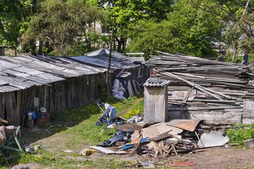 Modern European slums
