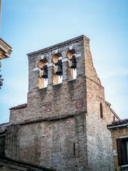 Venise une église et son clocher