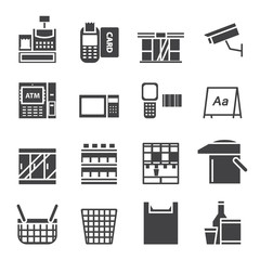 Convenience Store Equipment  icon