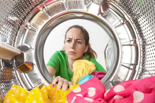 Corvées domestique de machine à laver
