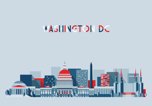 Washington skyline (United States)