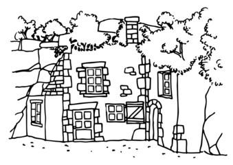 Maison Troglodyte - Anjou