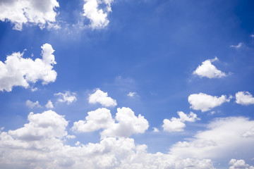 Beautiful clouds and blue sky