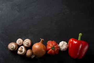 Cooking Background vegetables