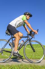 entspannt mit dem Rennrad fahren