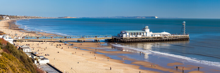 Fototapete - Bournemouth Pier Dorset