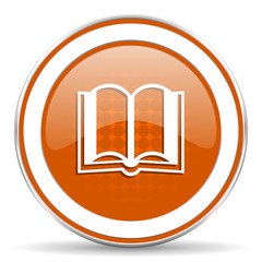 book orange icon