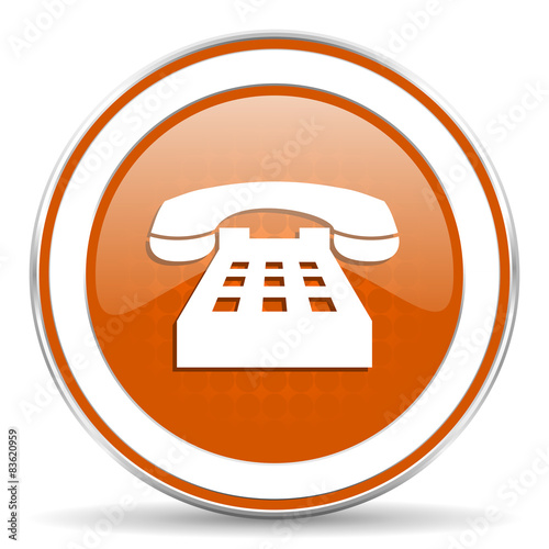 phone orange icon telephone sign stock photo and royalty free images on pic 83620959. Black Bedroom Furniture Sets. Home Design Ideas