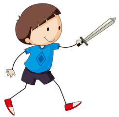 Sword fighting