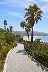 Entrance to Main Beach, Laguna Beach