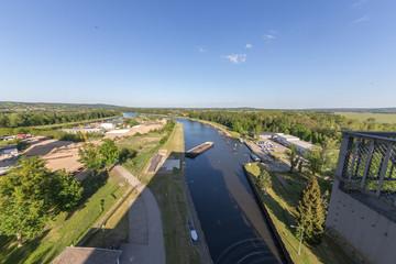 Oder-Havel-Kanal Niederfinow